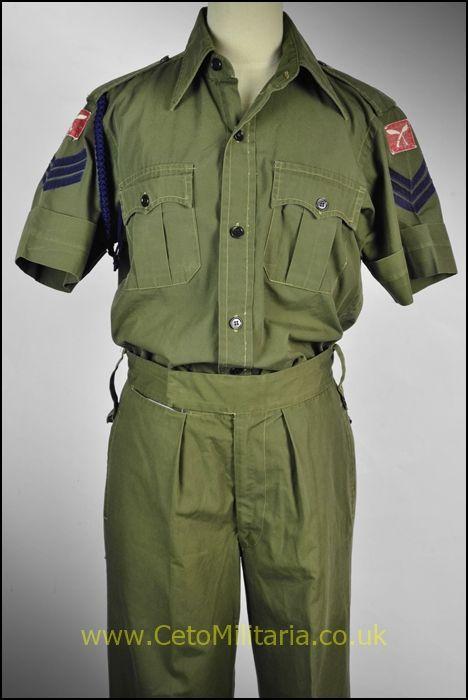 Gurkha Signals Sgt Jungle Greens (
