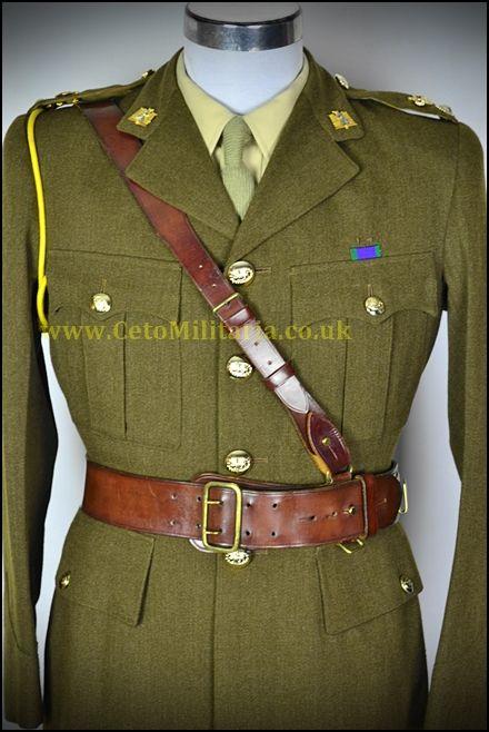 Royal Anglian Lt.Col. SD (37/38