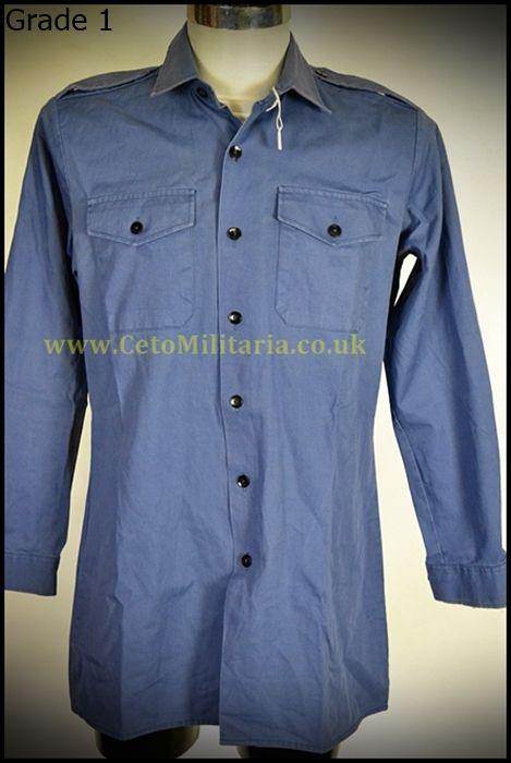 Shirt, RAF Blue Working Dress, Man's (Various)