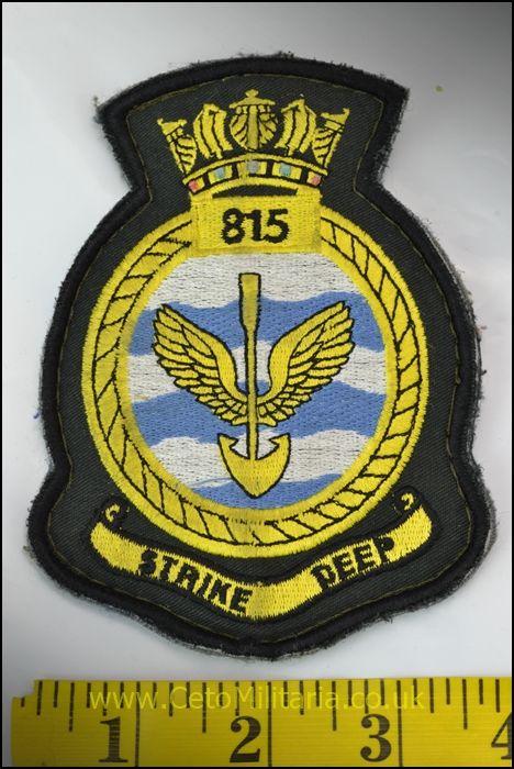 RN 815 NAS Patch (Velcro)