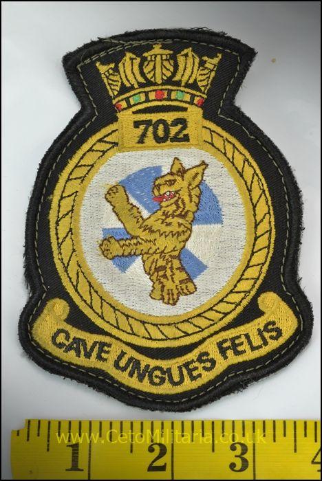 RN 702 NAS Patch (Velcro)
