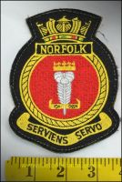 RN Patch HMS Norfolk (Velcro)
