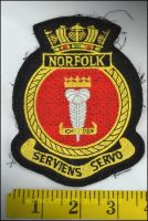 RN Patch HMS Norfolk