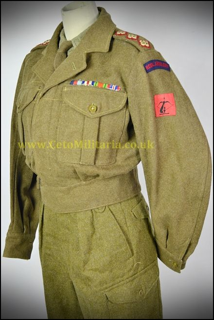 Royal Artillery AAC Capt. BD 1951 (37/38