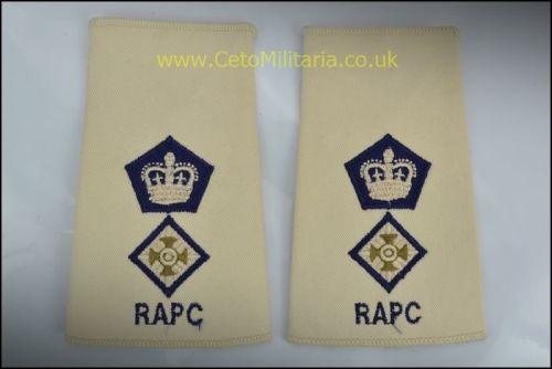 RankSlide, Lt Colonel RAPC
