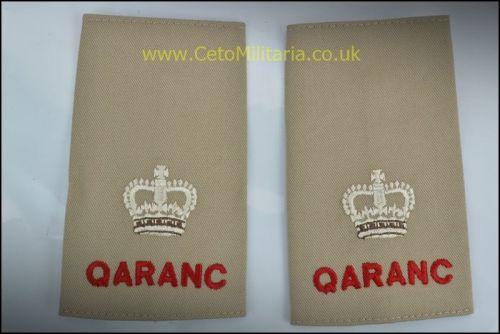 RankSlide, Major QARANC