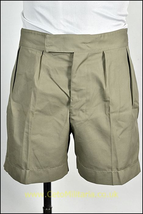 RAF Stone Tropical Shorts, Button Fly (Various)