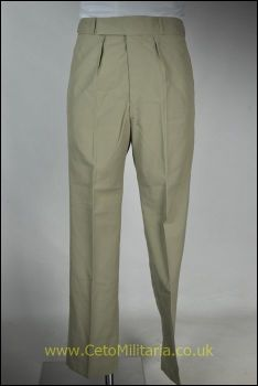 RAF Stone Tropical Trousers, Button (Various)