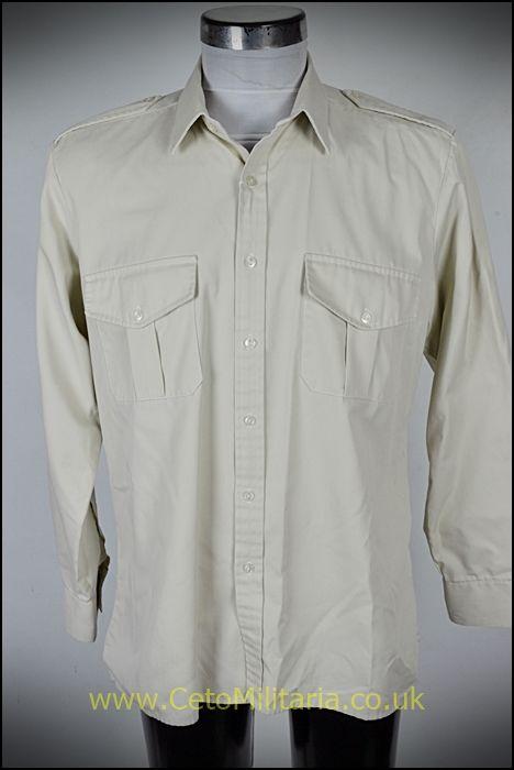 Shirt, Officer's Fawn (Various)