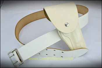 Belt/Holster, White