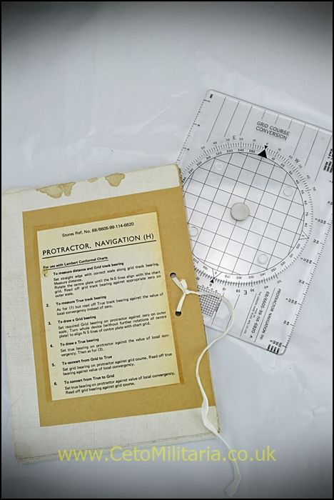 Protractor, Navigation (H)