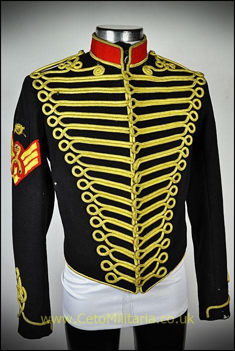 Royal Horse Artillery Sgt Tunic (