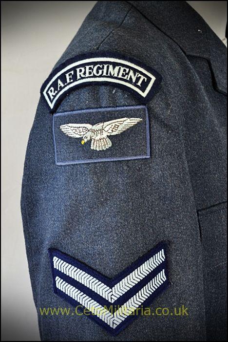 RAF No1 Jkt, Regiment Cpl(Various)