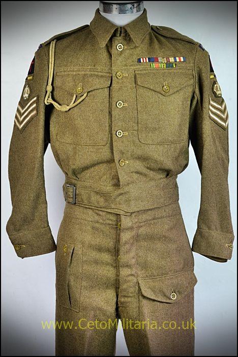 RASC S/Sgt BD 1945 (35/36