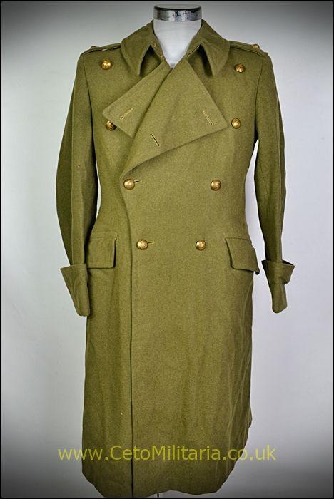 Greatcoat, RASC Lt 1940s (37/39