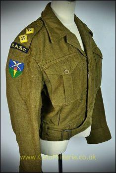 "BD Blouse, RASC Lt 1946 Patt (36/37"")"