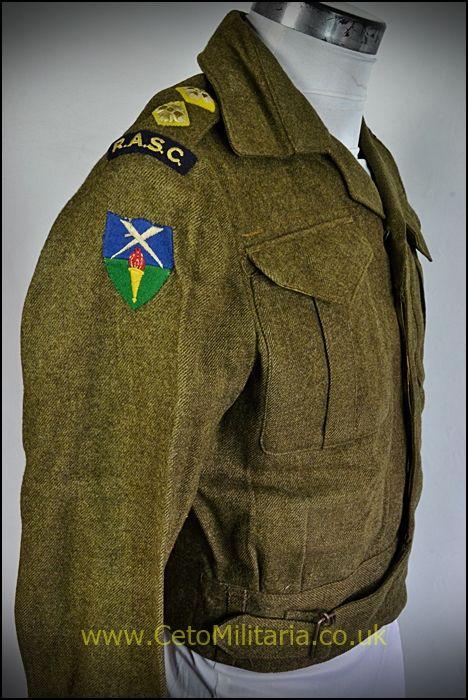 BD Blouse, RASC Lt 1943, Canadian (35/36