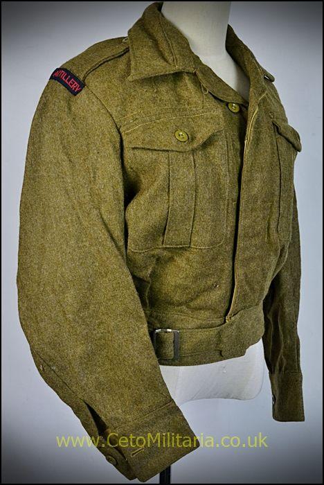 BD Blouse, RA Officer 1940 Patt (35/36