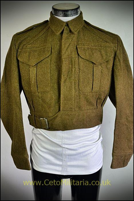 BD Blouse, 1940 Patt Officer (40/41
