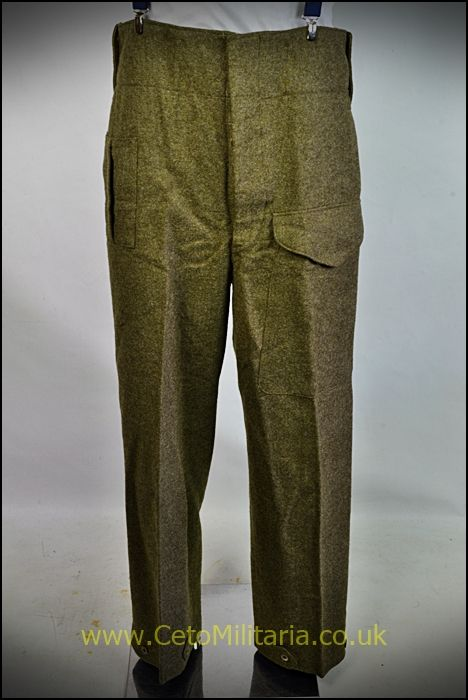 BD Trousers, Canadian-Pattern 1944 (33/34