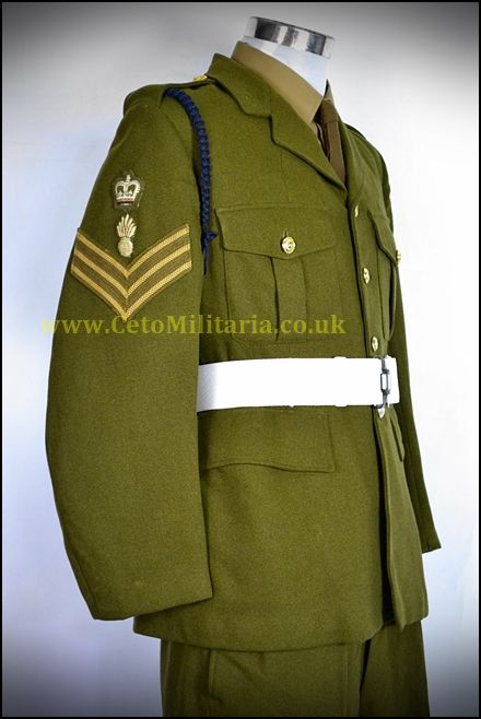 Royal Engineer S/Sgt No2 '60s (37/38C 35W)