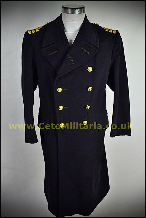 RN Greatcoat/Crombie Cdr (38/42