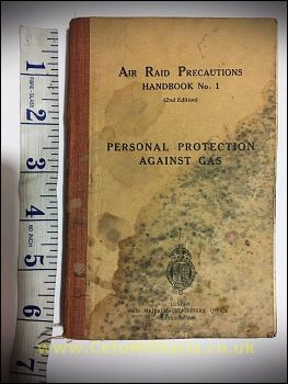 ARP No1 - Protection Against Gas (1938)
