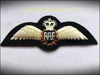 """Pilot's Brevet/""""Wings"""", RAF (Padded)"""