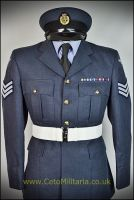 RAF No1,  OA Jacket (40/41C 35W) Sgt