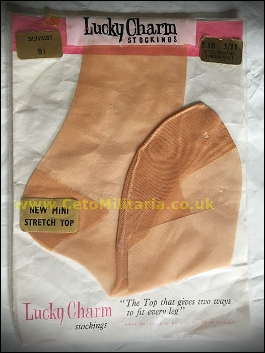 Lucky Charm Sunkist Stockings (9.5)