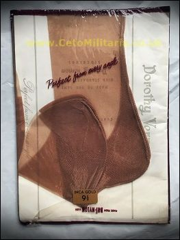 Dorothy Vernon Inca Gold Stockings (9.5)
