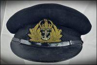 RN Officer Cap, WW2 (53cm)
