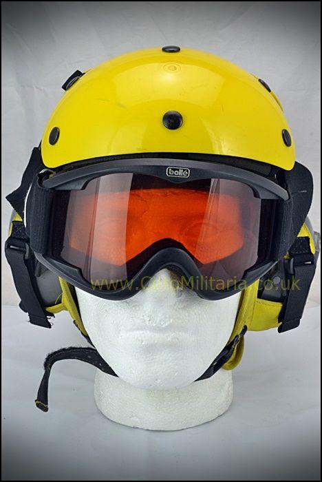 Flightdeck Helmet c/w 'phones/goggles