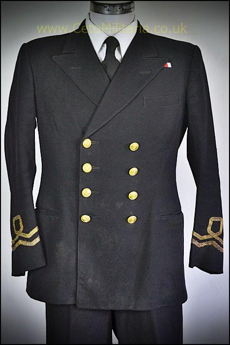 RANVR No1 Uniform, Lt WW2  (37/39