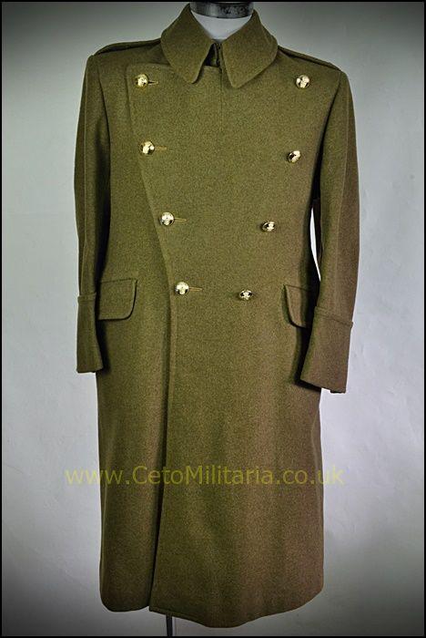 Greatcoat, RAOC Lt Col (1945)