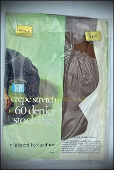 """Co-Op 60D Crepe Mayfair Stockings (8.5-9"""")"""