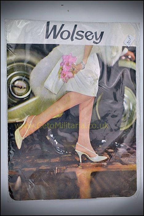 Wolsey Monte Carlo AmberGlow Stockings (8.5-9