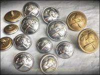 Buttons, Fire Brigade (24/17mm)