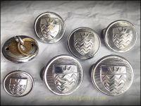 Buttons, London Fire Brigade (24/17mm)