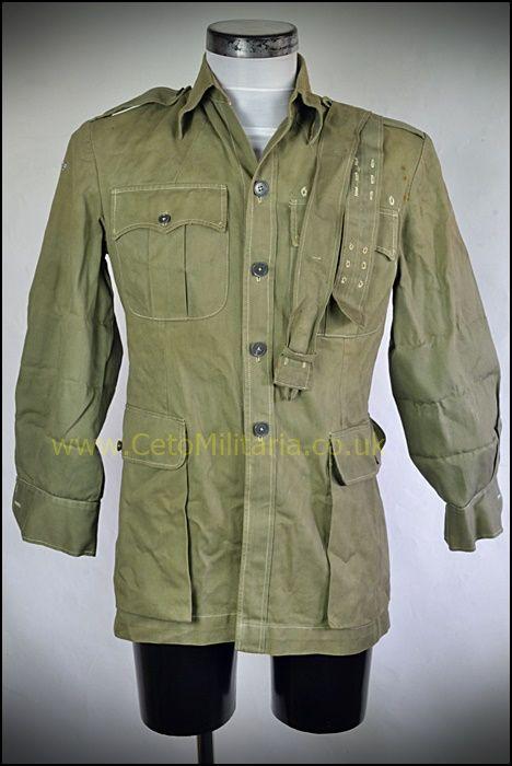 Shirt, Jungle Green 1950s (36/38