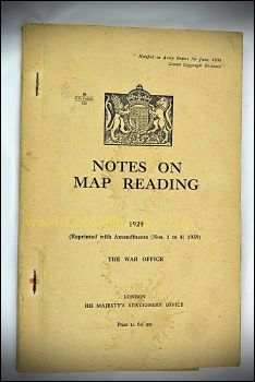 Notes on Map Reading (1940)