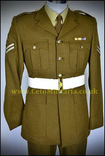 Royal Engineer FAD No2 Jacket+ (38/39C 34W) Cpl Marksman
