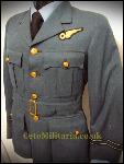 Service Dress Tunic WW2, RAF Flt Lt Observer, Pre-'42?, KC