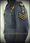 Service Dress Tunic WW2, RCAF Flt Sgt AG, '41?, KC
