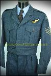 """RAF Battledress, Sgt Aircrew Eng, 1951 (39/43"""")"""