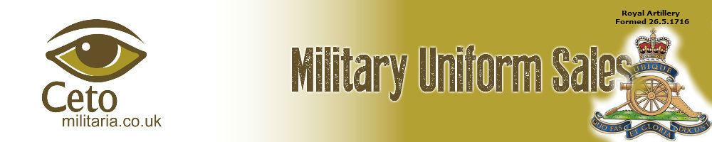 Ceto Military Uniforms, site logo.