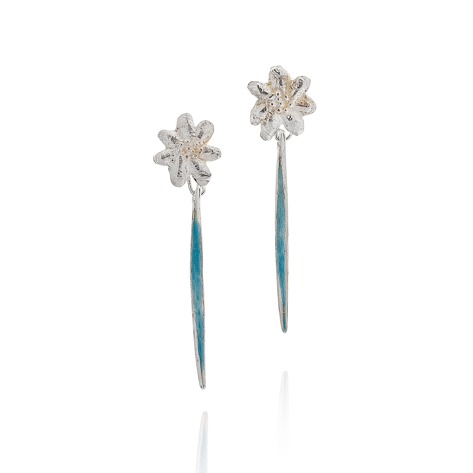 cathy-newell-price-silver-enamel-earrings