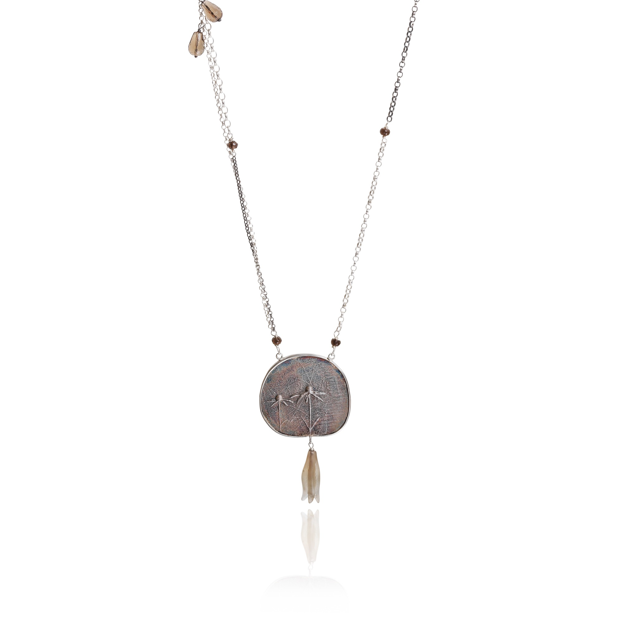 cathy-newell-price-Echinacea- necklace