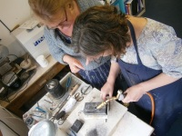 Make silver jewellery 4 week course Thursdays mornings Start January 2020