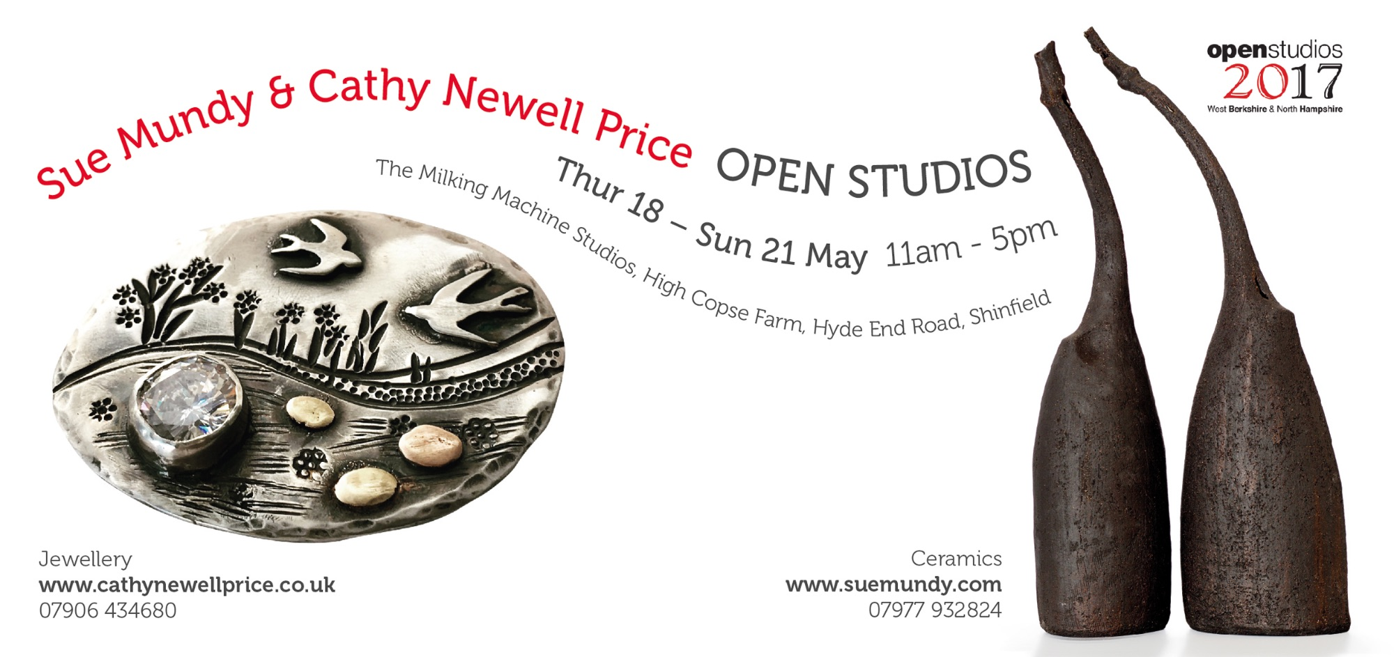 Open Studios Berkshire Jewellery and Ceramics
